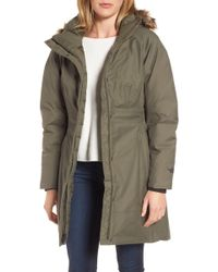 The North Face Arctic Ii Waterproof 550-fill-power Down Parka With Faux Fur Trim - Multicolour