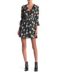ANAMÁ - Woven Floral Dress - Lyst