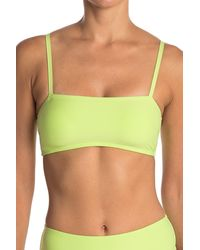 VYB - Solid Bandeau Top - Lyst