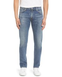 Citizens of Humanity Bowery Slim Fit Jeans - Blue