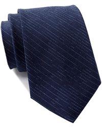 Calvin Klein - Broken Stripe Tie - Lyst
