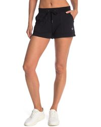 Champion Campus Tie Dye French Terry Knit Shorts - Black