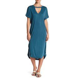 Lush - Cupro Dress - Lyst