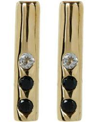 Elizabeth and James - Bea Bar Stud Earrings - Lyst