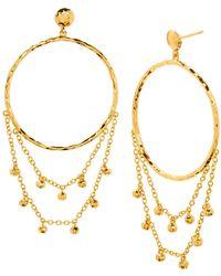 Gorjana - Sol Drop Earrings - Lyst