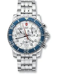 Victorinox - Men's Maverick Swiss Quartz Watch, 43mm - Lyst