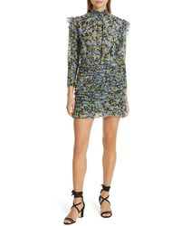 Robert Rodriguez Nikita Floral Print Cotton & Silk Dress - Multicolor