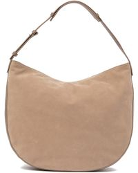 Vince - Hudson Medium Leather Hobo Bag - Lyst