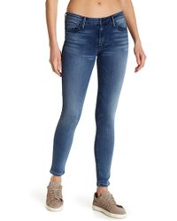Black Orchid - Jude Mid Rise Super Skinny Jeans - Lyst