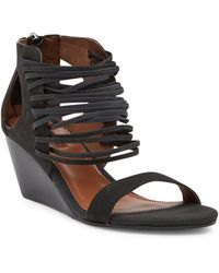 Matiko | Bryn Leather Wedge Sandal | Lyst