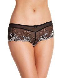 Felina | Demeure Lace Mesh Hipster Panty | Lyst