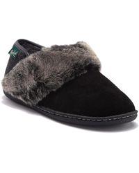 Woolrich - Winter Ridge Faux Fur Trim Slipper - Lyst