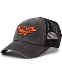 American Needle - Baltimore Orioles Raglan Bones Mesh Baseball Cap - Lyst