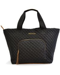 Adrienne Vittadini Quilted Tote - Black
