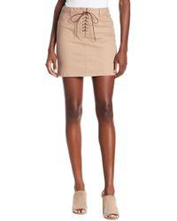 Dex - Lace-up Skirt - Lyst