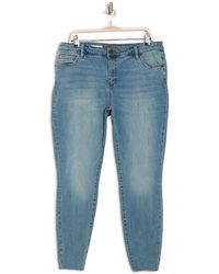 Kut From The Kloth Viv Toothpick Skinny Jeans - Blue