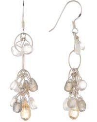 Peyote Bird - Gemstone Drop Earrings - Lyst