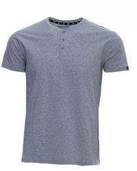 Xray Jeans Short Sleeve Henley - Gray