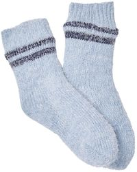 Jessica Simpson Lodge Socks - Blue