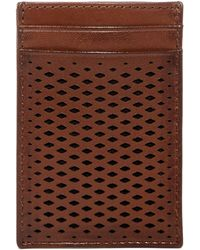 Cole Haan - Leather Money Clip Card Case - Lyst