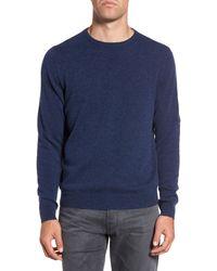 Nordstrom Crew Neck Cashmere Sweater - Blue