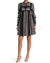 Sea Keely Long Sleeve Tunic Dress - Black