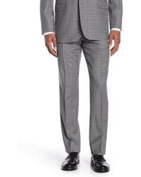 Brooks Brothers - Light Grey Plaid Regent Fit Suit Separate Pants - Lyst