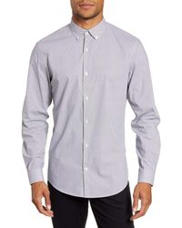 Calibrate Button-down Shirt - Purple