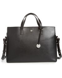 Lodis Business Chic Judith Rfid-protected Leather Laptop Briefcase - Black