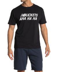 New Balance Buckets T-shirt - Black