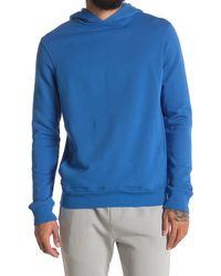 Goodlife Cotton Terry Pullover Hoodie - Blue
