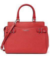 Calvin Klein Signature Satchel - Red