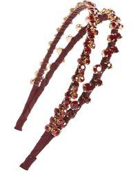 Tasha - Double Strand Headband - Lyst