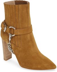 PAIGE London In Suede Bootie - Brown