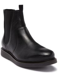 H by Hudson - Brooksby Leather Chelsea Boot - Lyst