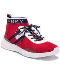 f9544ce1ea81 Lyst - Tommy Hilfiger Cabello Sneaker in Blue