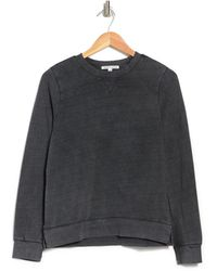 Threads For Thought Mineral Wash Pullover Sweatshirt - Black