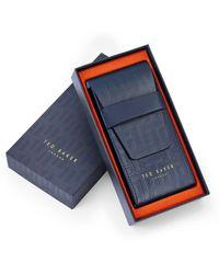 Ted Baker Women's Belgravia Leather Strap Watch - Black