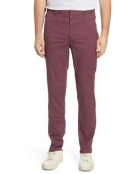 Tommy John Water Repellent Performance Pants - Red