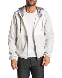 Save The Duck Leisure Knit Panel Hooded Jacket - Multicolor