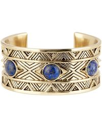 House of Harlow 1960 - Dorelia Lapis Statement Cuff - Lyst