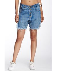 One Teaspoon - Charger Relaxed Fit Short - Lyst