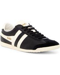 Gola Bullet Leather Sneaker (men) - Black