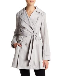 Guess - Double-breasted Coat - Lyst