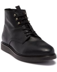 H by Hudson Aldford Leather Boot - Black