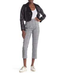 Cupcakes And Cashmere Chelsey High Rise Plaid Pants