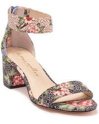 Bettye Muller - Tangle Floral Print Block Heel Sandal - Lyst