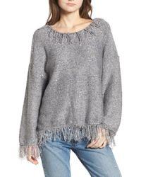Raga - Savannah Frayed Sweater - Lyst