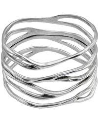 Uno De 50 - Infinity Bangle Bracelet - Lyst