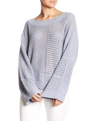 Fate - Open Knit Sweater - Lyst